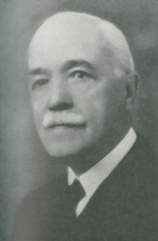 Black and white photograph of E. R. Faribault.