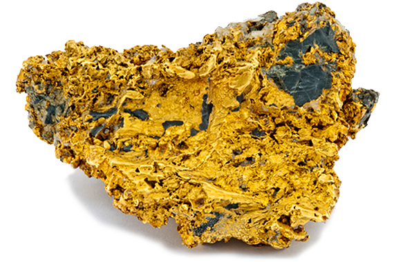 Gold specimen from Nova Scotia containing 17.7 troy ounces.