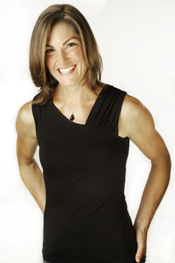 Photograph of World Championship winning rower Tracy Cameron.