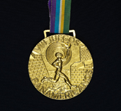 1979 Pan American Softball gold medal.